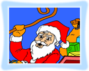 Santa Claus - Coloring Game